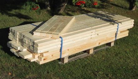 badtunna trä byggsats